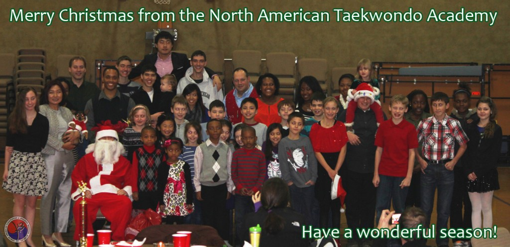 North American Taekwondo Christmas Party 2013